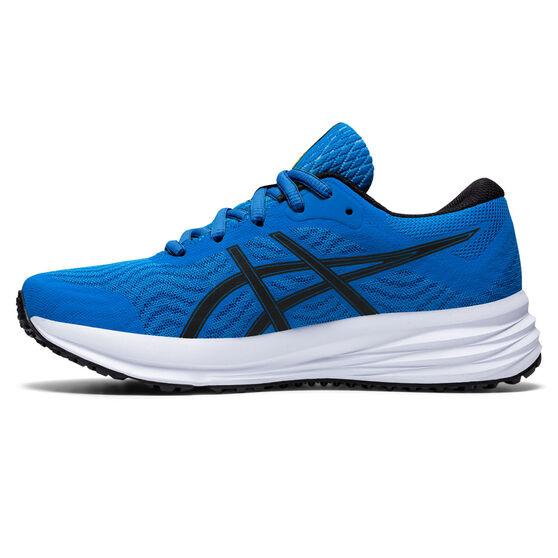 Asics Patriot 12 Kids Running Shoes, Blue, rebel_hi-res