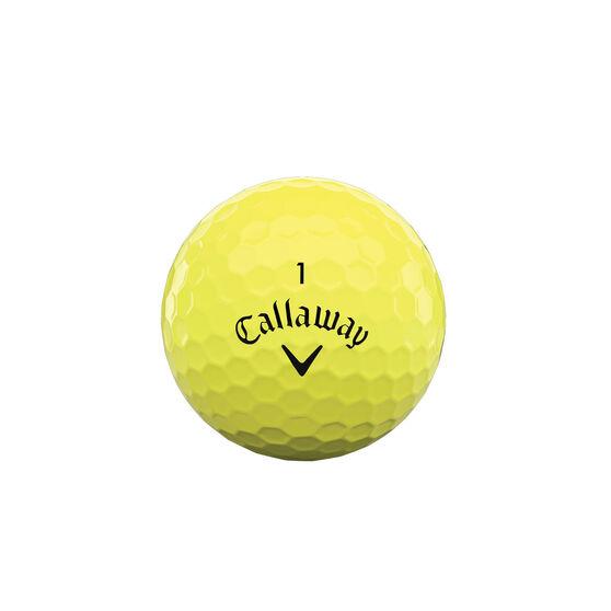 Callaway Supersoft 21 Golf Balls Yellow, , rebel_hi-res