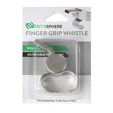 Terrasphere Brass Finger Grip Whistle, , rebel_hi-res