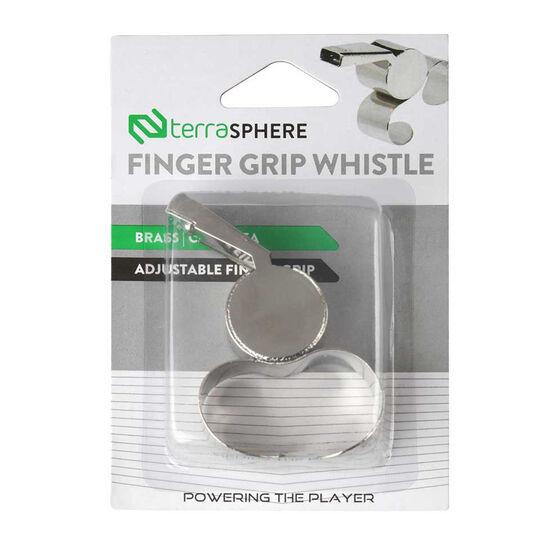 Terrasphere Brass Finger Grip Whistle, , rebel_hi-res