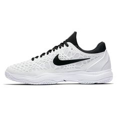 Nike Air Zoom Cage 3 Mens Tennis Shoes White / Black US 7, White / Black, rebel_hi-res