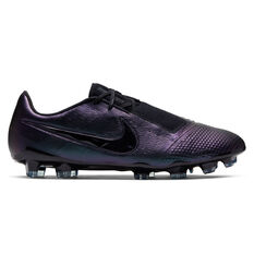 Nike Phantom Venom Elite Football Boots Black US Mens 4 / Womens 5.5, Black, rebel_hi-res