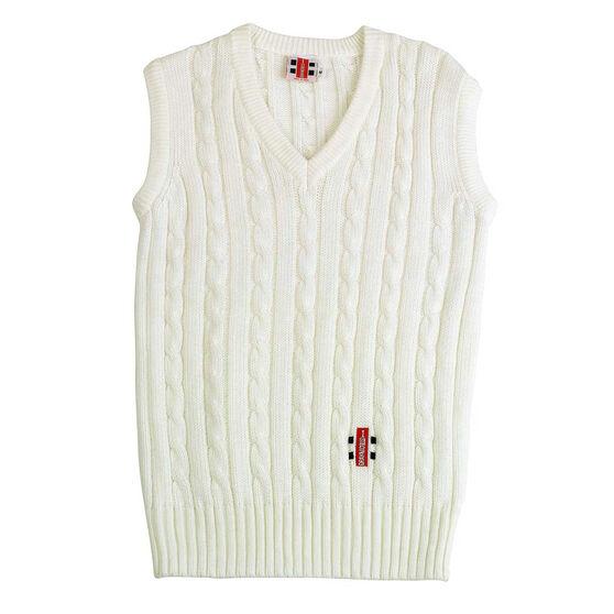 Gray Nicolls Senior Sleeveless Cricket Sweater, , rebel_hi-res
