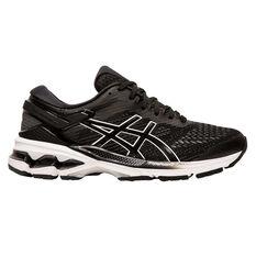 Asics GEL Kayano 26 Womens Running Shoes Black / White US 6, Black / White, rebel_hi-res