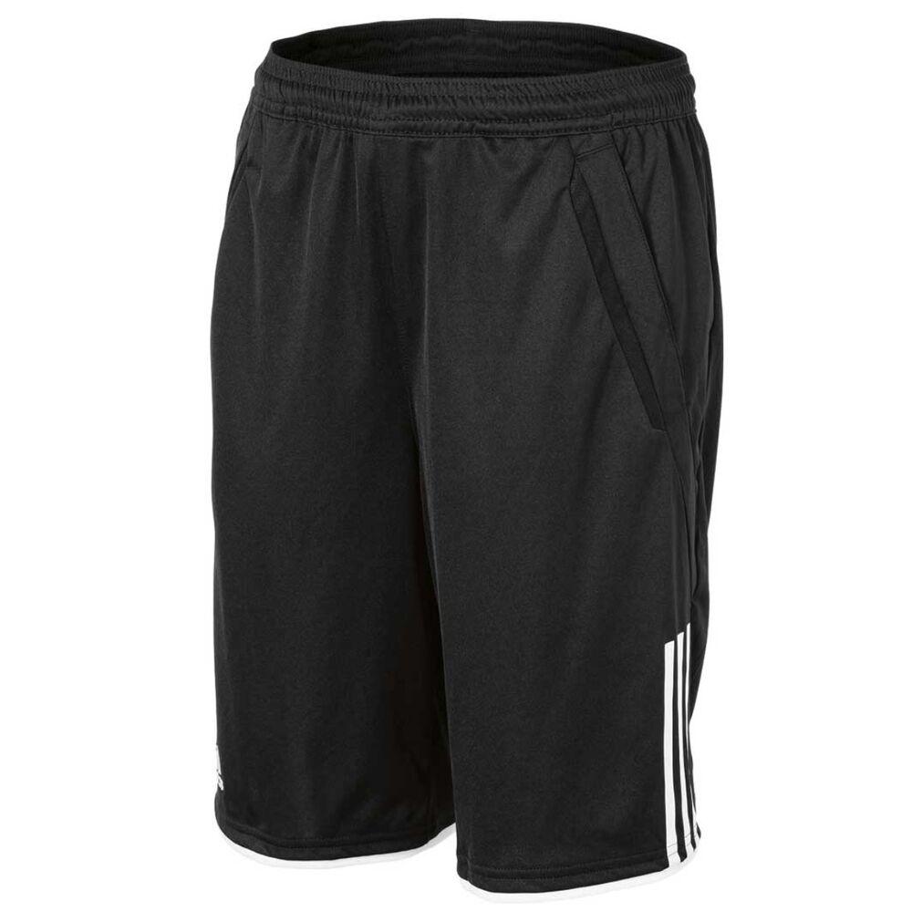 a18047f964ee adidas Boys Tennis Club Bermuda Shorts Black   White 12