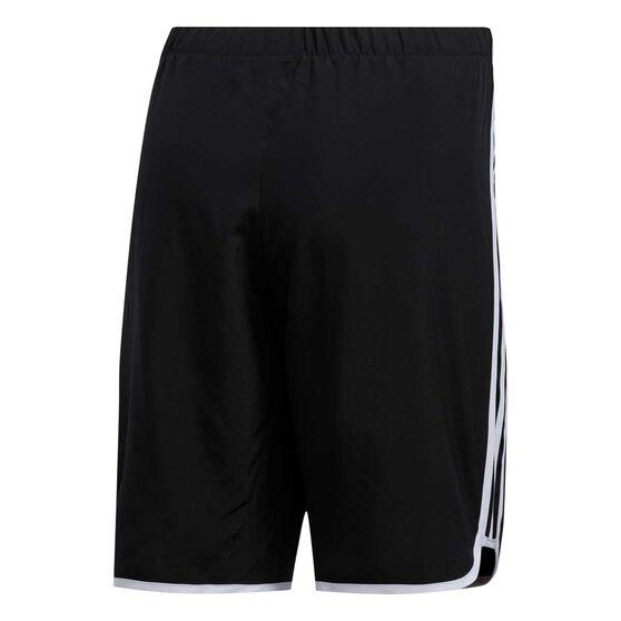 adidas Womens Marathon 20 Long Shorts, Black, rebel_hi-res