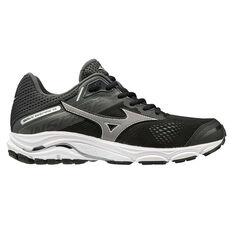 Mizuno Wave Inspire 15 D Womens Running Shoes Black US 7.5, Black, rebel_hi-res