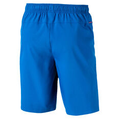 Puma Mens Tec Sports Woven Shorts Blue S, Blue, rebel_hi-res