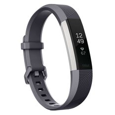Fitbit Alta HR Activity Tracker S Blue Gray, , rebel_hi-res