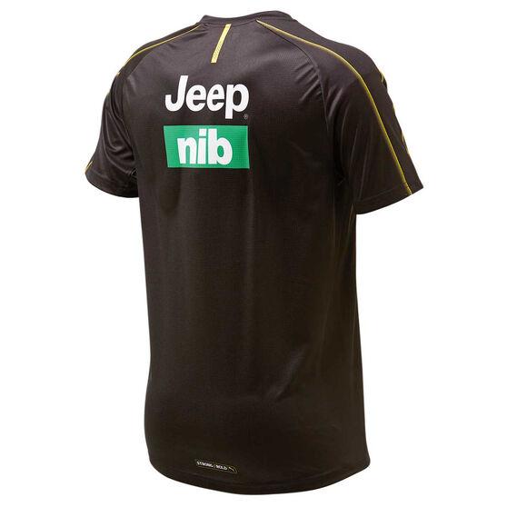 Richmond Tigers 2019 Mens Training Tee Brown / Yellow XXL, Brown / Yellow, rebel_hi-res