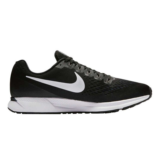 factory authentic c6939 18ac8 Nike Air Zoom Pegasus 34 Mens Running Shoes Black   White US 7, Black