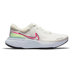 Nike ZoomX Invincible Run Flyknit Mens Running Shoes, White/Black, rebel_hi-res