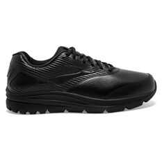 Brooks Addiction Walker Neutral 2E Mens Walking Shoes Black US 8, Black, rebel_hi-res