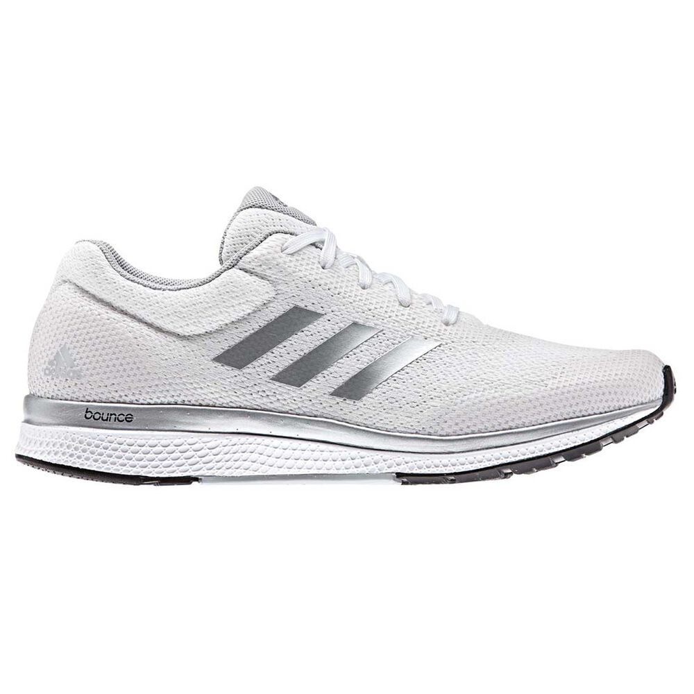 a28f20fde adidas Mana Bounce 2 Womens Running Shoes White   Grey US 8.5 ...
