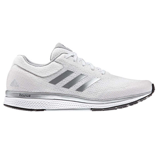 aaa010b77 adidas Mana Bounce 2 Womens Running Shoes White   Grey US 6