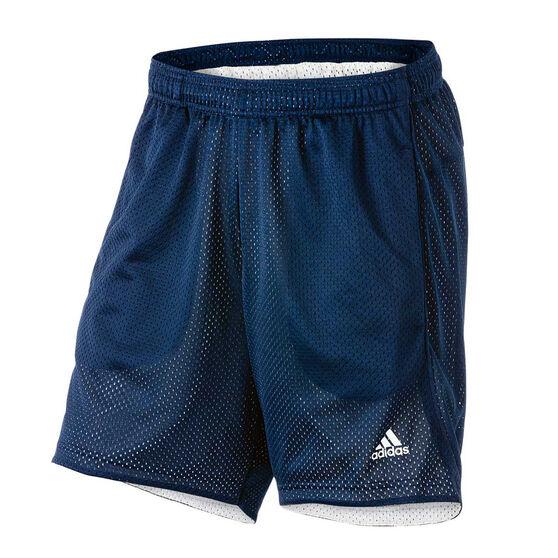 best service 1fd9e 7f614 adidas Mens Essential Chelsea Mesh Shorts Navy S Adult, Navy, rebel hi-res