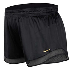 Nike Womens Glam Dunk Running Shorts Plus Black XL, Black, rebel_hi-res