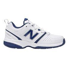 New Balance 625 Boys Cross Training Shoes White / Black US 2, White / Black, rebel_hi-res