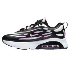 Nike Air Max Exosense Kids Casual Shoes White/Black US 11, White/Black, rebel_hi-res