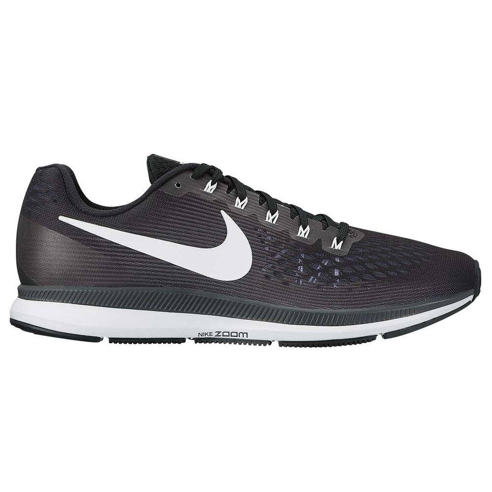 cheaper 9e3ea 662af Nike Air Zoom Pegasus 34 Womens Running Shoes Black / White US 6.5