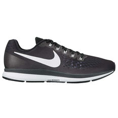 Nike Air Zoom Pegasus 34 Womens Running Shoes Black / White US 6, Black / White, rebel_hi-res