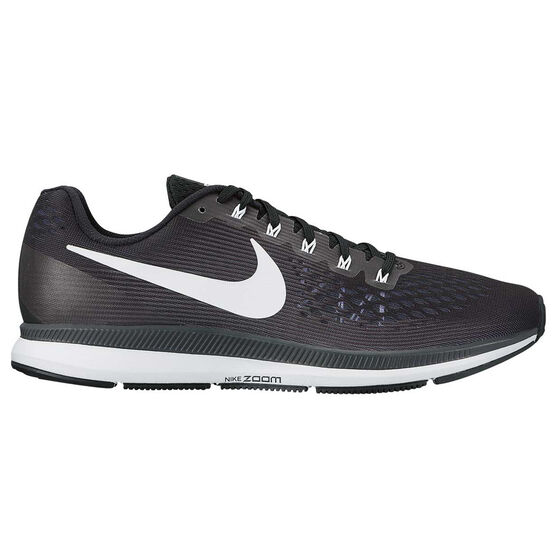 b4acc7574f14 Nike Air Zoom Pegasus 34 Womens Running Shoes Black   White US 6 ...