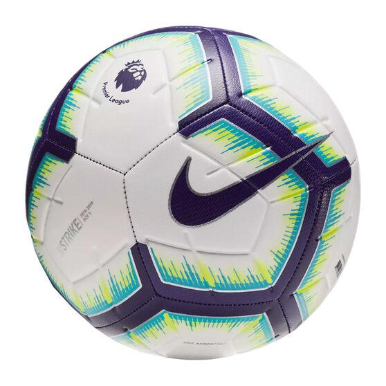 Nike Premier League Strike Soccer Ball White 3, White, rebel_hi-res