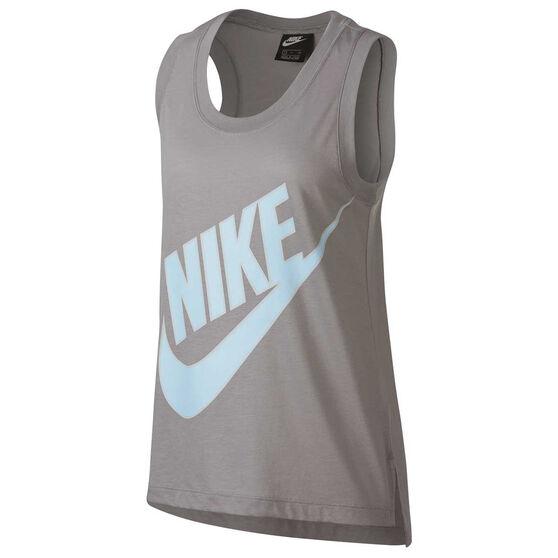 Nike Womens Sportswear Tank, Grey, rebel_hi-res