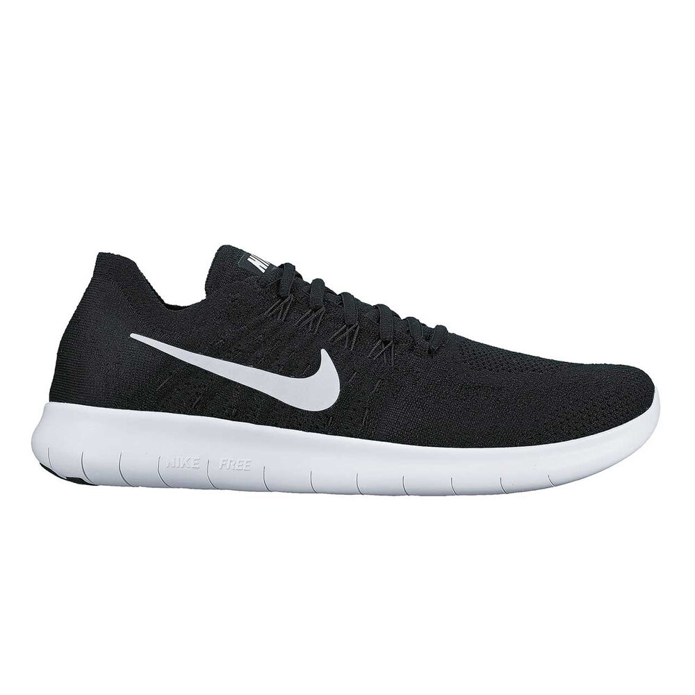 a20fb915aa6e Nike Free Run Flyknit 2017 Mens Running Shoes Black   White US 12 ...