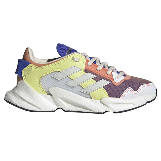 adidas Karlie Kloss X9000 Womens Casual Shoes, Pink/Yellow, rebel_hi-res