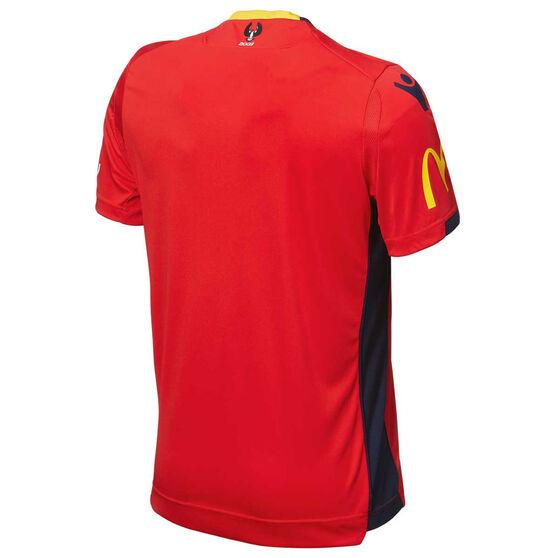 Adelaide United 2018 / 19 Kids Home Jersey, Red, rebel_hi-res