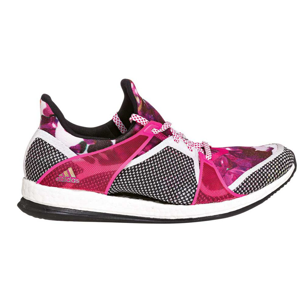 45598822f adidas Pure Boost X Trainer Womens Running Shoes Pink   Grey US 10 ...