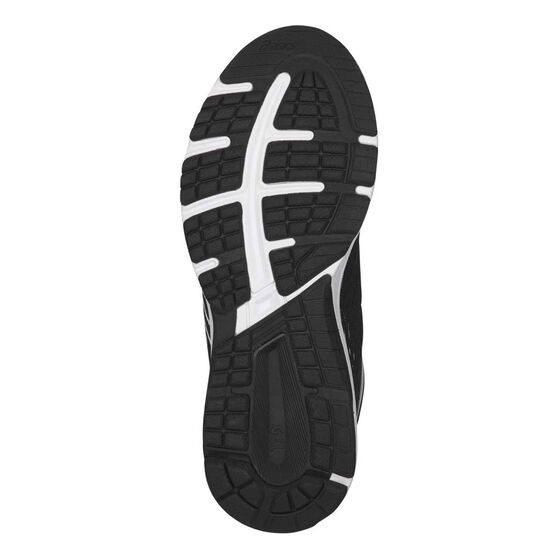 Asics GT 1000 7 Boys Running Shoes, Black / White, rebel_hi-res