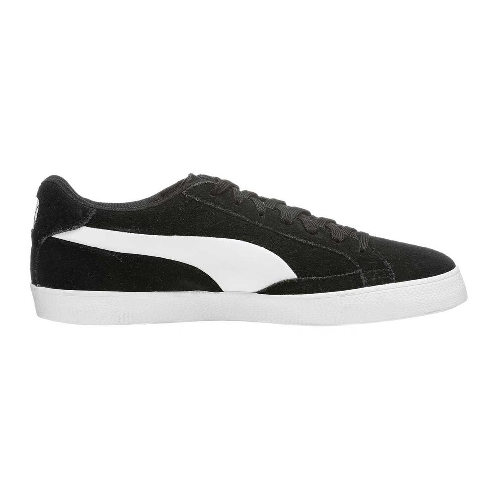 1666b78996d Puma Match Vulc 2 Mens Casual Shoes Black   White US 7