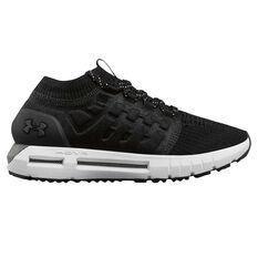Under Armour HOVR Phantom Womens Running Shoes Black / White US 6, Black / White, rebel_hi-res