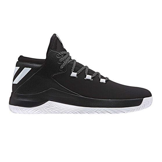 7bbacf74e3d0 adidas D Rose Menace 2.0 Mens Basketball Shoes Black   White US 9 ...