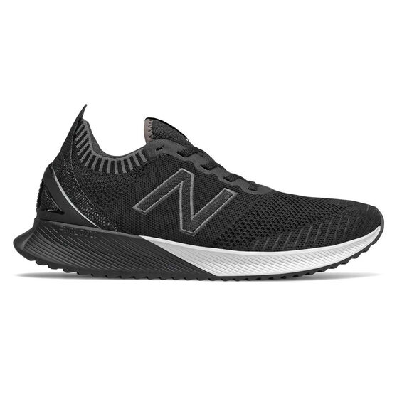 New Balance Echo Mens Running Shoes Black / White US 9, Black / White, rebel_hi-res