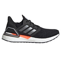 adidas Ultraboost 20 Space Race Womens Running Shoes Black US 6, Black, rebel_hi-res