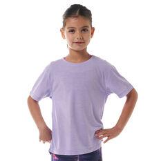 Ell & Voo Girls Delilah Tee Lavender 4 4, Lavender, rebel_hi-res