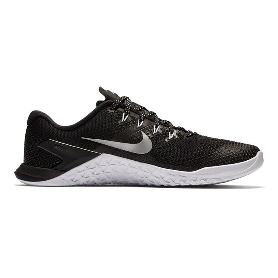 74bb35ce62401 Nike Metcon 4 Womens Training Shoes Black   White US 10