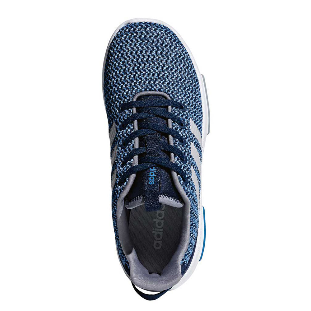 c96231f031df9 adidas Cloudfoam Racer TR Kids Casual Shoes Navy   Grey US 5