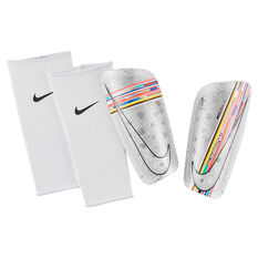 Nike Mercurial Lite Energy Shin Guards White / Multi S, White / Multi, rebel_hi-res