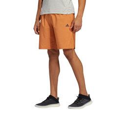 adidas Mens Axis Heathered Shorts Red M, Red, rebel_hi-res