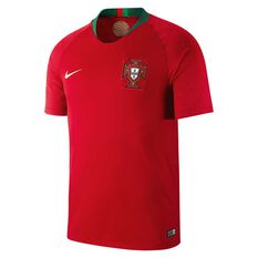 Portugal 2018 Mens Home Football Jersey Red / Green S, Red / Green, rebel_hi-res