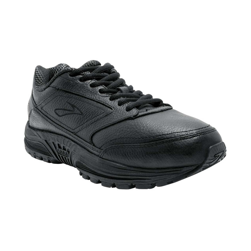 bbacd928fa2 Brooks Dyad Walker Mens Walking Shoes Black   Black US 8.5