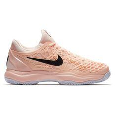 Nike Air Zoom Cage 3 Womens Tennis Shoes Orange / Black US 9, Orange / Black, rebel_hi-res
