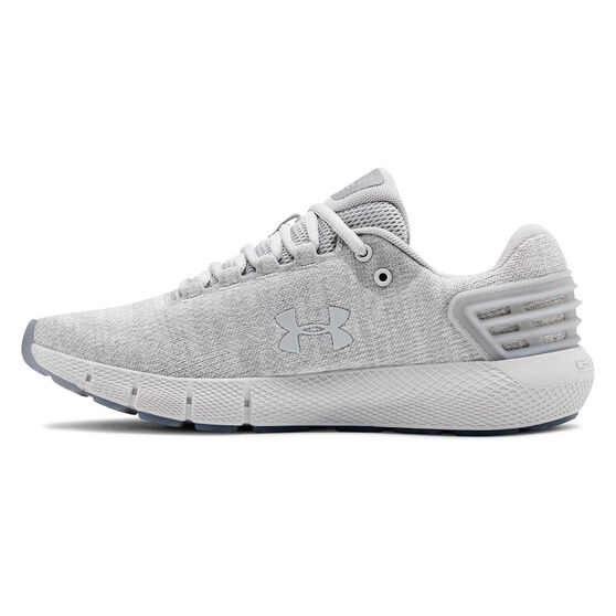 Under Armour Charged Rogue Twist Womens Running Shoes, Grey, rebel_hi-res