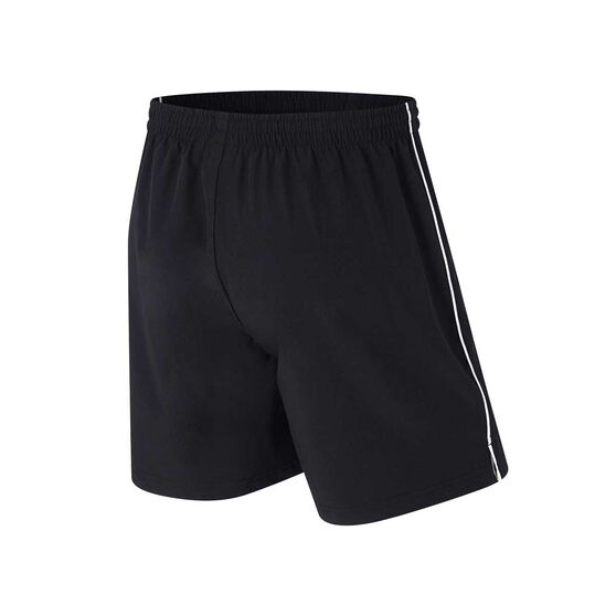 Collingwood Magpies Mens Core Training Shorts, Black, rebel_hi-res