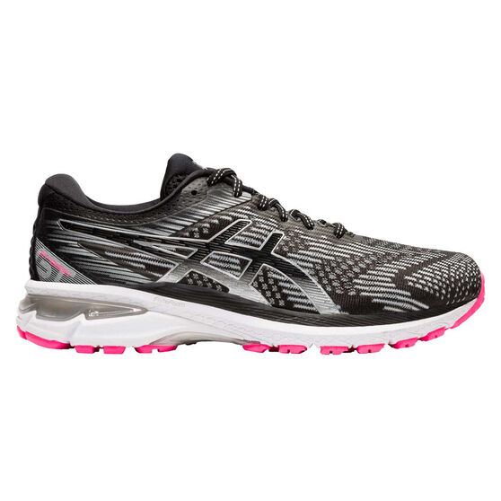 Asics GT 2000 8 Lite Show Womens Running Shoes, Grey / Silver, rebel_hi-res