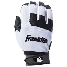 Franklin Flex Youth Batting Glove White L, White, rebel_hi-res